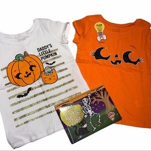 💥Host pick💥NEW 4T Halloween shirts and book